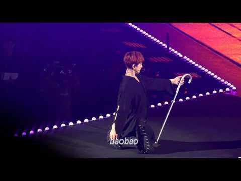 161127 The EXO'rDIUM in Taipei, Artificial Love - Baekhyun Focus 백현