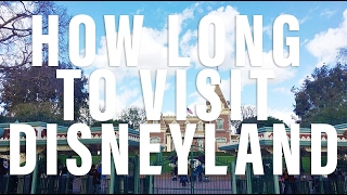Save Money on Discount Disneyland Tickets and How Long to Visit