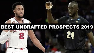 5 Best Undrafted Players From The 2019 NBA Draft