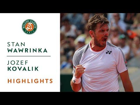 Stan Wawrinka vs Jozef Kovalik - Round 1 Highlights | Roland-Garros 2019