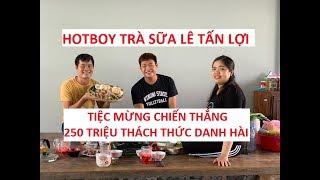 Hotboy trà sữa thắng 250 triệu Thách thức danh hài, 3 năm sau mới làm tiệc mừng!!!