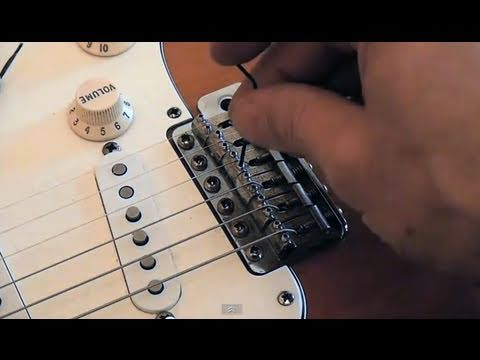 Electric Guitar String Adjustment : perfect stratocaster setup setting strings height action youtube ~ Hamham.info Haus und Dekorationen