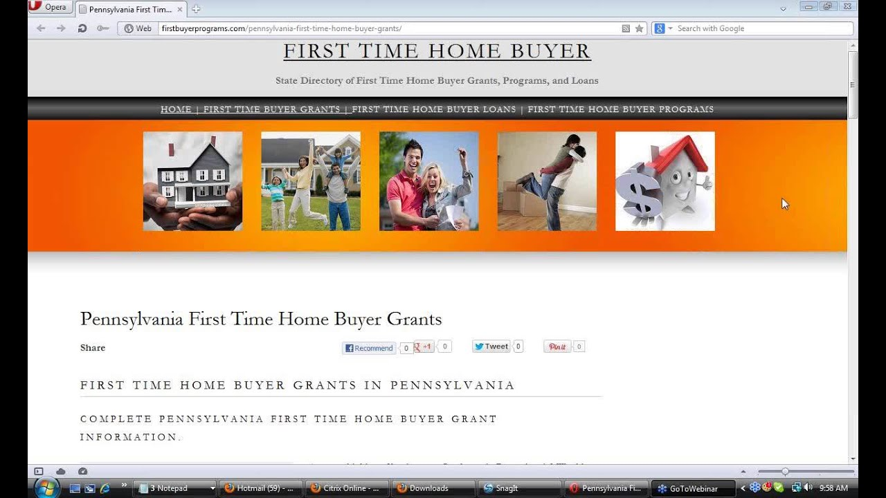 pennsylvania first time home buyer grants youtube. Black Bedroom Furniture Sets. Home Design Ideas
