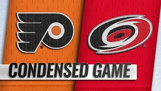 03/30/19 Condensed Game: Flyers @ Hurricanes