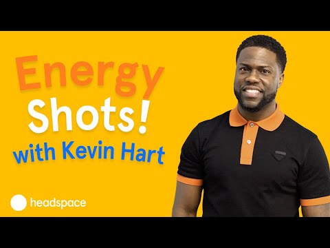 "Daily ""Energy Shots with Kevin"" featured in Headspace's The Wake Up"