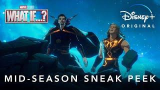Mid-Season Sneak Peek   Marvel Studios' What If...?   Disney+