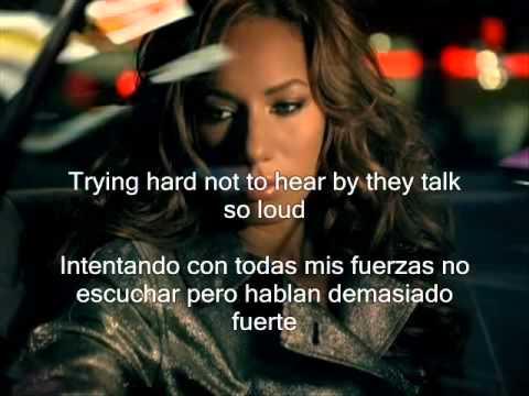 Leona Lewis - Bleeding Love subtitulos español ingles