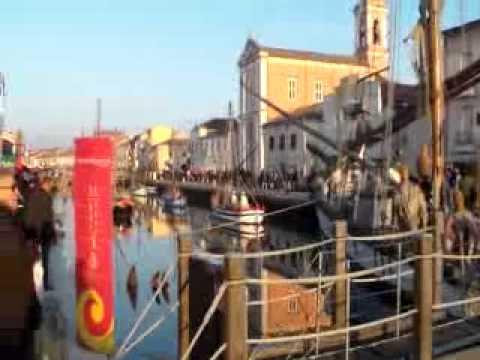 Presepe sulle Barca di Cesenatico 2012