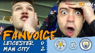 Leicester 0-2 Man City | De Bruyne scores worldie as Man City beat Leicester 2-0! | FanVoice