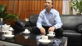 Phó TGĐ Đài TH Hà Nội Kiều Thanh Hùng tiếp đại diện người biểu tình