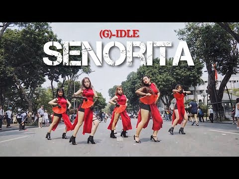 [KPOP IN PUBLIC CHALLENGE] (G)I-DLE (여자)아이들) - SENORITA (세뇨리따) DANCE COVER by C.A.C from Vietnam