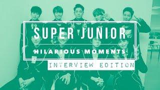 SUPER JUNIOR Hilarious Moments [Part 1] - Interview Edition
