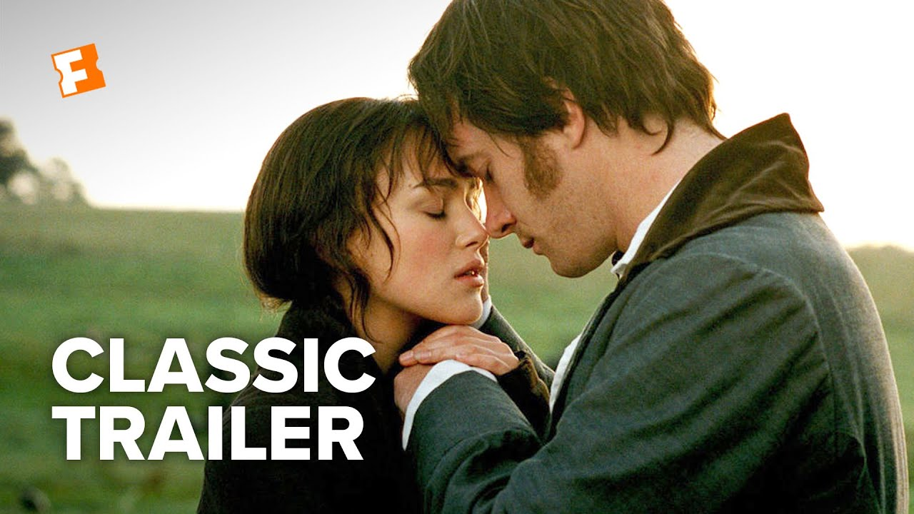 youtube pride and prejudice 2005 ending a relationship