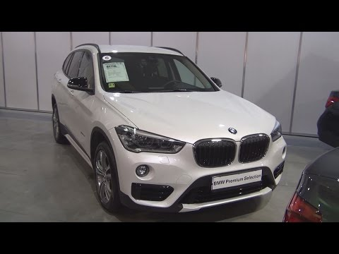 BMW X1 xDrive 20d (2016) Exterior and Interior in 3D