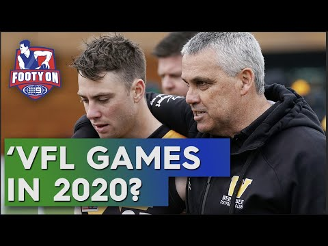 Mark Williams provides latest on 2020 VFL season | Footy on Nine