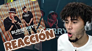 Myke Towers & Ñengo Flow - BURBERRY (REACCION)