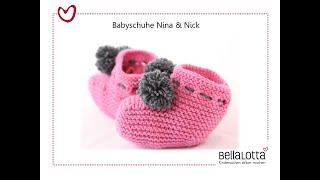 babysocken stricken anleitung video clip. Black Bedroom Furniture Sets. Home Design Ideas