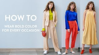 How to Wear Bold Color | Nordstrom
