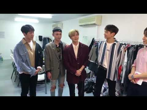 180406 SHINee !t Live SPECIAL : SMTOWN LIVE WORLD TOUR IN DUBAI - The Waiting Room Live
