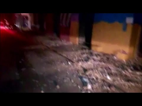 Earthquake rocks Peru