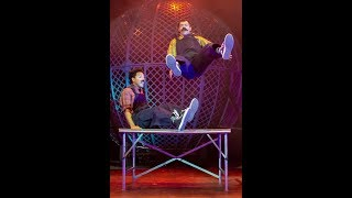 slapstick comedy - mustache brothers clowns