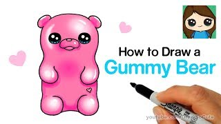 How to Draw a Gummy Bear Easy