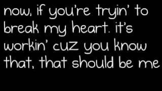justin bieber - that should be me / lyrics