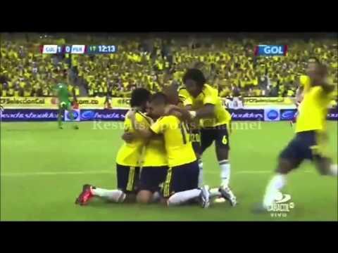 COLOMBIA VS PERU ELIMINATORIAS 2014 RESUMEN DEL PARTIDO COMPLETO PERU COLOMBIA 2013 PAOLO GUERRERO