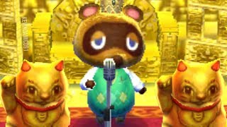 Tom Nook SINGING for 1 HOUR - Animal Crossing Relaxing Music ASMR