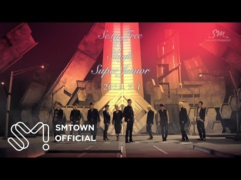 SUPER JUNIOR 슈퍼주니어 'Sexy, Free & Single' MV Teaser