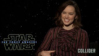 Daisy Ridley 'The Force Awakens' Full Press Interview Day 1