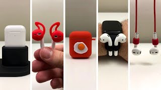 Top 5 AirPod Accessories [For AirPods 1 & 2]