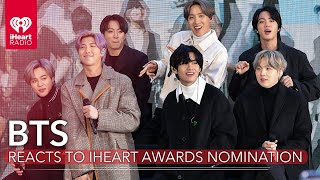BTS Reacts To Being Nominated For An iHeartRadio Music Award!