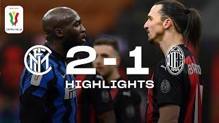 INTER 2-1 AC MILAN | COPPA ITALIA HIGHLIGHTS | A 97th-minute winner from Christian Eriksen! 🎨⚫🔵
