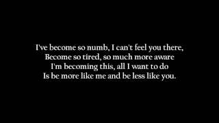 Linkin Park- Numb [ Lyrics on screen ] HD