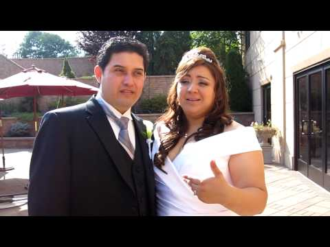 Real Weddings: Viviana and Victor