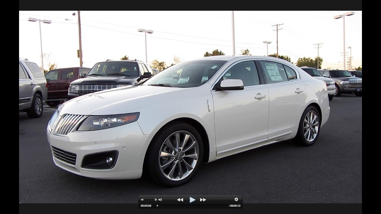 2016 Taurus Sho >> 2011 Lincoln MKS EcoBoost Start Up, Exhaust, and In Depth ...