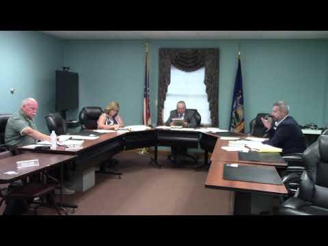 Champlain Town Board Meeting  8-10-21