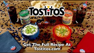 TOSTITOS® - Delegate Dips | Blue Cheese Dip and Buffalo Dip Recipes