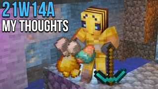 My Thoughts On Snapshot 21w14a
