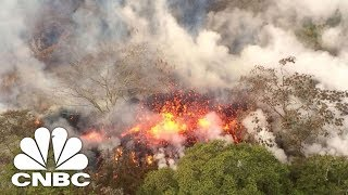 Hawaii's Volcano Erupts, Spews Ash 30,000 Feet | CNBC