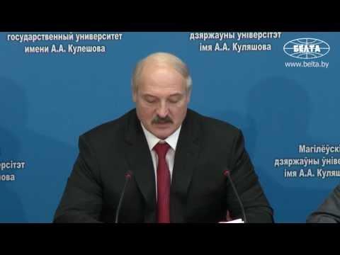 Лукашенко видит будущее за суверенными государствами и отдельными нациями