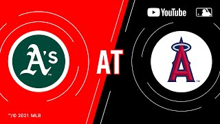 Athletics at Angels | MLB Game of the Week Live on YouTube