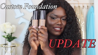 UPDATE-- CUSTOM FOUNDATION MATCH CO|| Nyma Tang