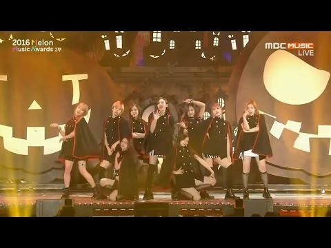 2016 MMA(Melon Music Awards) TWICE CHEER UP+TT