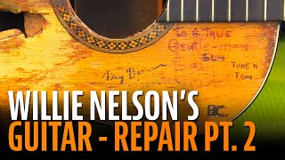 Watch the Trade Secrets Video, More inside info on Willie Nelson's Trigger guitar