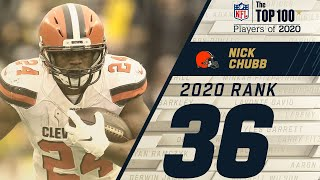 #36: Nick Chubb (RB, Browns) | Top 100 NFL Players of 2020