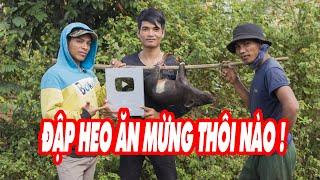Nút Bạc Về Với Buôn Làng Ăn Mừng Thôi P2 | Team hài hước nhất làng