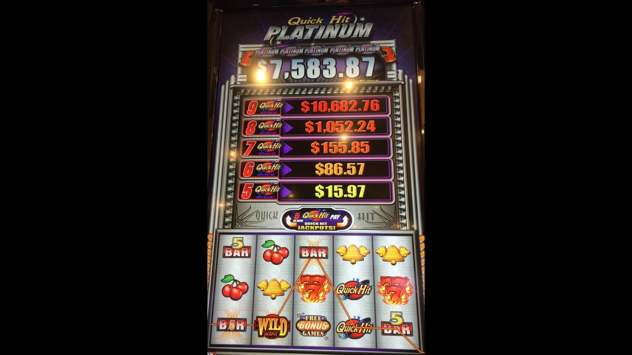 Quick Hit Platinum Slot Machines