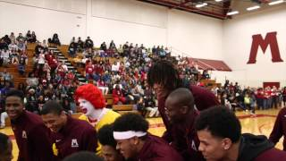 Watch Muskegon's senior Deyonta Davis honored for being named a McDonald's All-American during schoo